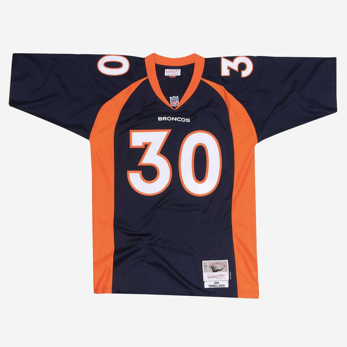 Mitchell and Ness NFL Terrell Davis 1998 Legacy Denver Broncos Jersey
