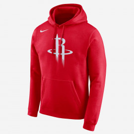 Kids - Houston Rockets Po Logo Essential Hoodie