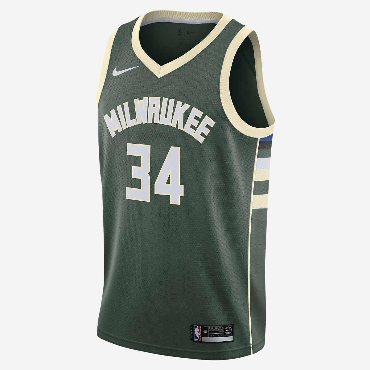 Giannis Antetokounmpo Icon Edition Swingman Jersey - Milwaukee Bucks